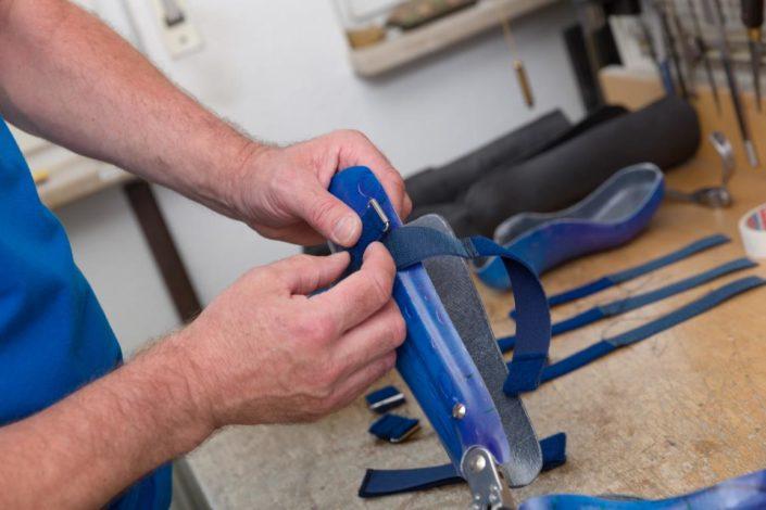 Sanitätshaus Götzen Leistungen Orthesen und Prothesen Herstellung