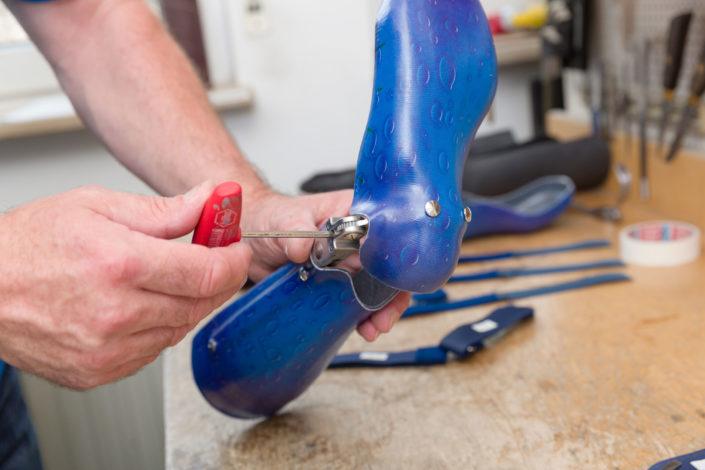 Sanitätshaus Götzen Leistungen Orthesen Prothesen Herstellung Fuß