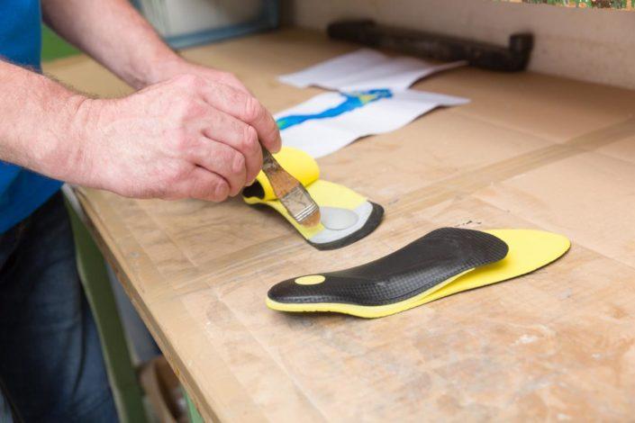 Sanitätshaus Götzen Leistungen orthopädische Schuheinlagen Herstellung