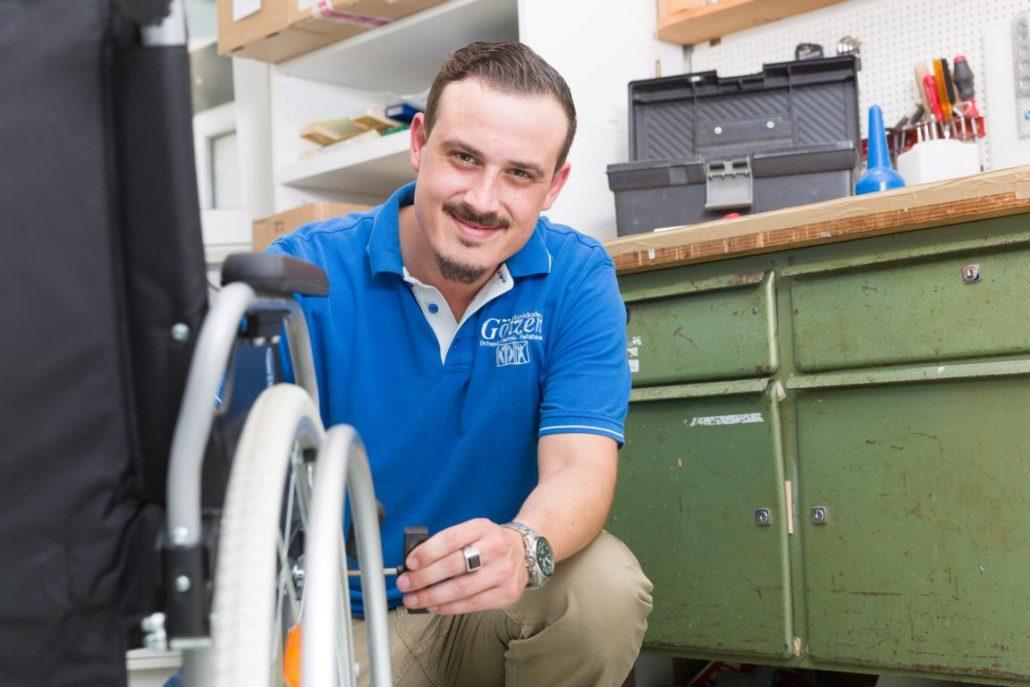 Sanitätshaus Götzen Leistungen Rehatechnik und Homecare Rollstuhl